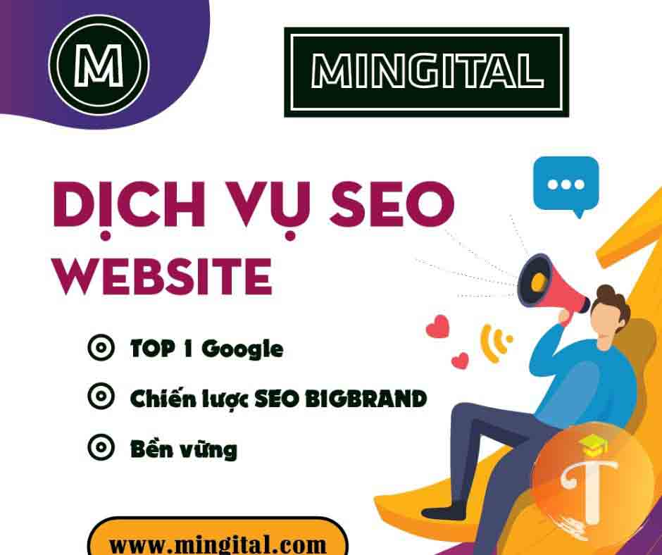dịch vụ marketing seo mingital