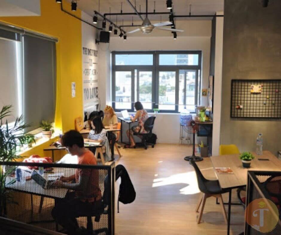 văn phòng chia sẻ , co-working space tại đà nẵng