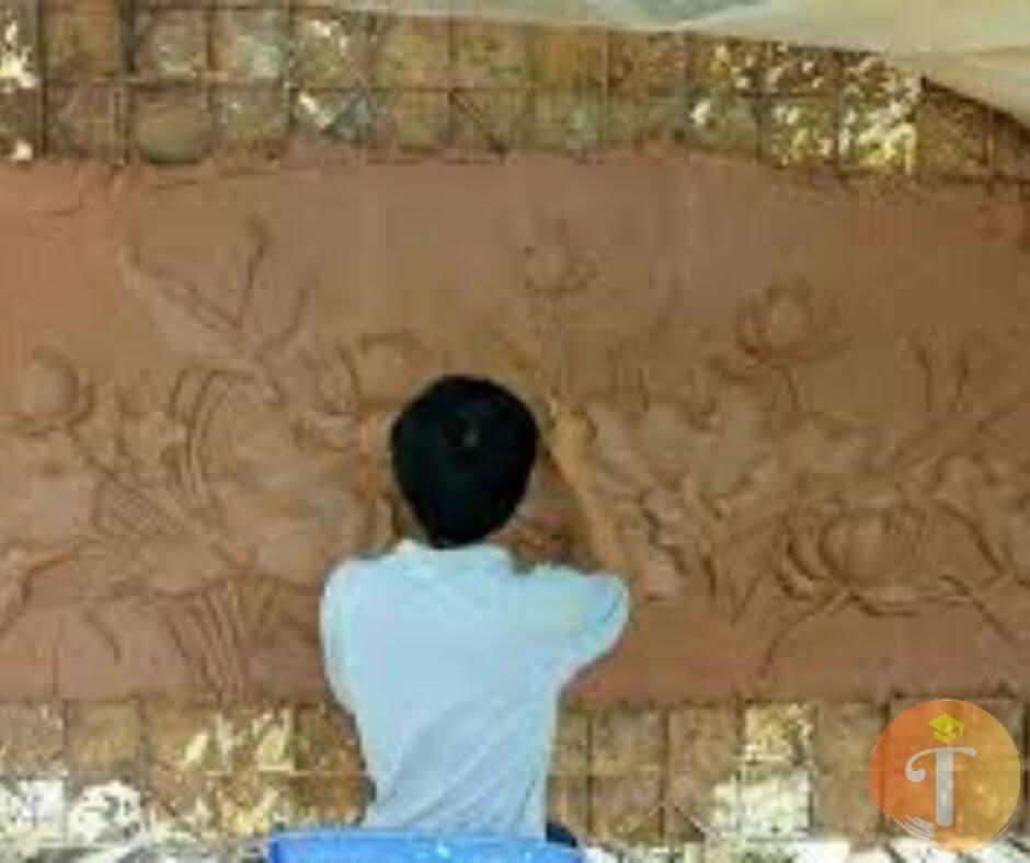 điêu khắc phú cường - vẽ tranh tường 3D