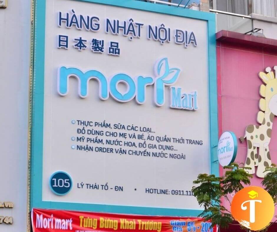 Của hàng Bản đồ Nhật tại Đà Nẵng - mori mart