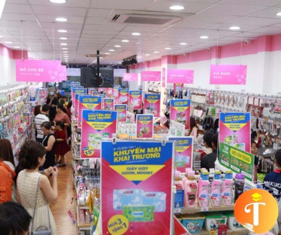 Hàng xách tay Nhật ở cửa hàng Sakuko Japanese Store tại Đà Nẵng