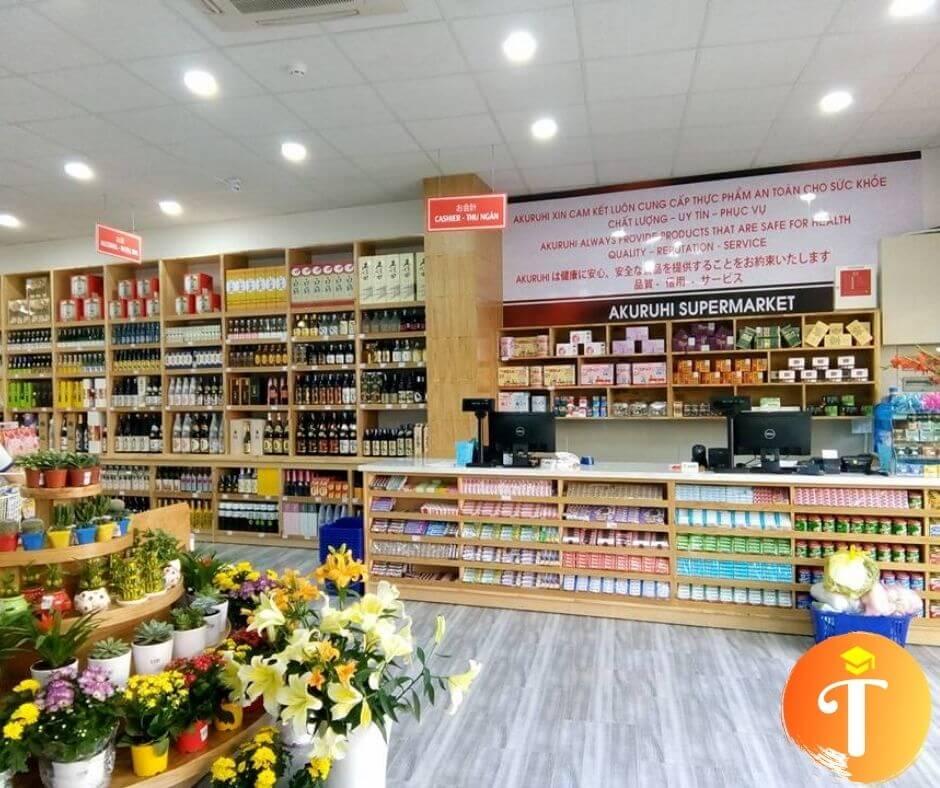 Siêu thị hàng Nhật nội địa Akuruhi Food Đà Nẵng