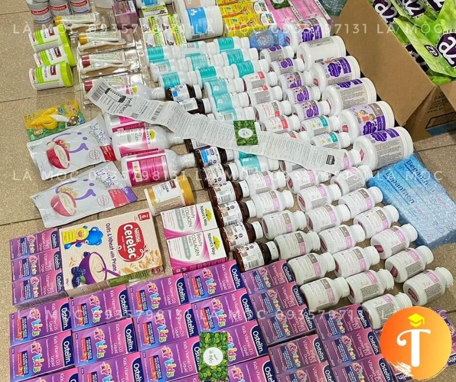 bán thực phẩm chức năng hàng xách tay mỹ úc tại Đà Nẵng