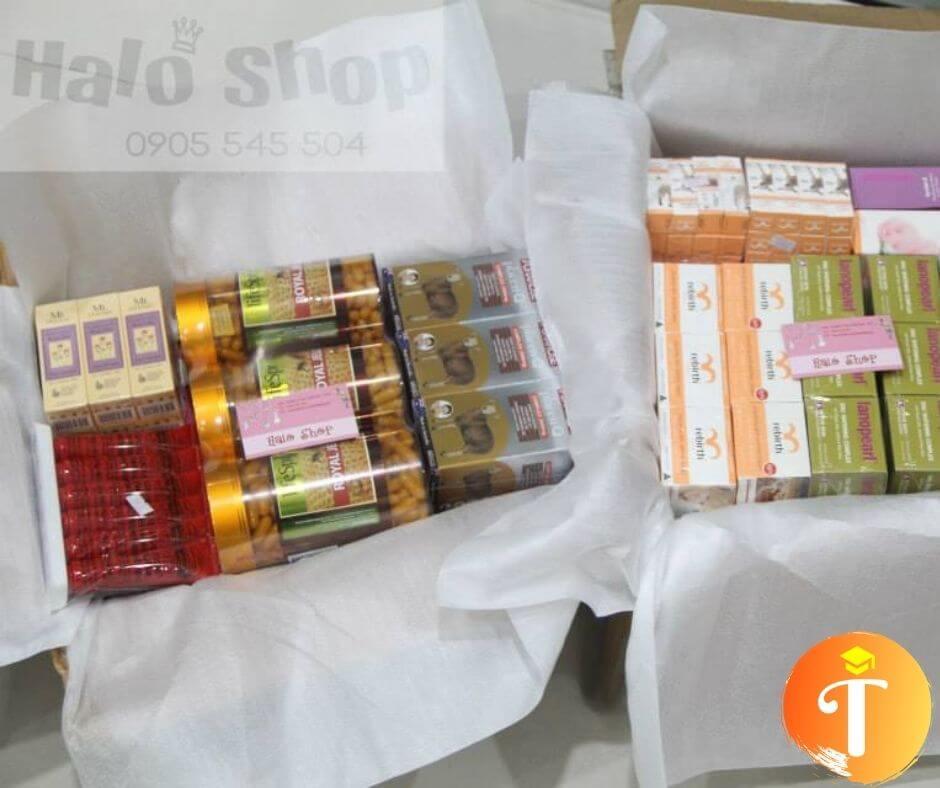 bán thực phẩm chức năng hàng xách tay tại Đà Nẵng - halo shop
